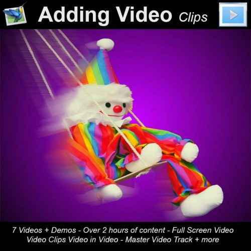 PTE8 Adding Videos