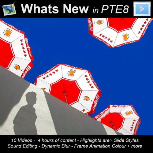 PTE8 Whats new