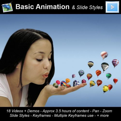 PTE9 Basic anim and Styles